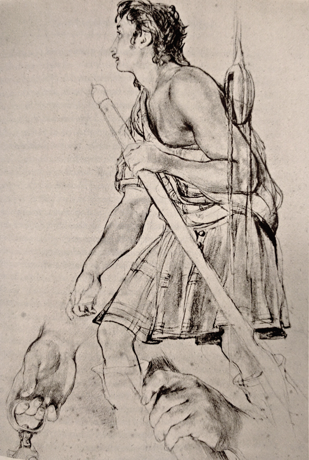Sir David Wilkie Sketch of a poor highlander